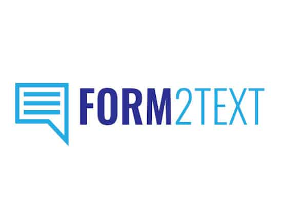 form2text wordpress software logo hahamarketing.com